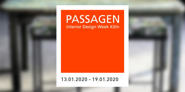 ART + Style Design geht an den Start bei den Passagen 2020 in Köln